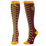 Harry Potter Gryffindor Faux Boots Womens Knee High Socks