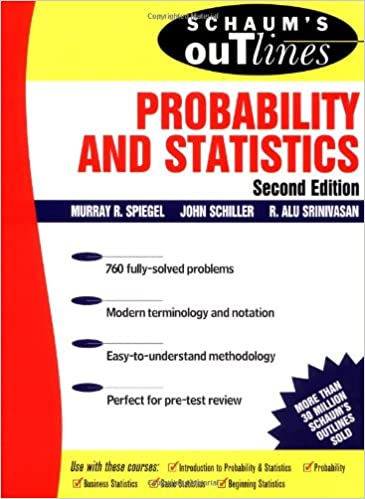 Schaums outline probability and statistics second edition murray schaums outline probability and statistics second edition 2nd edition fandeluxe Image collections