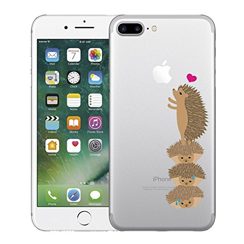 coque iphone 8 herisson