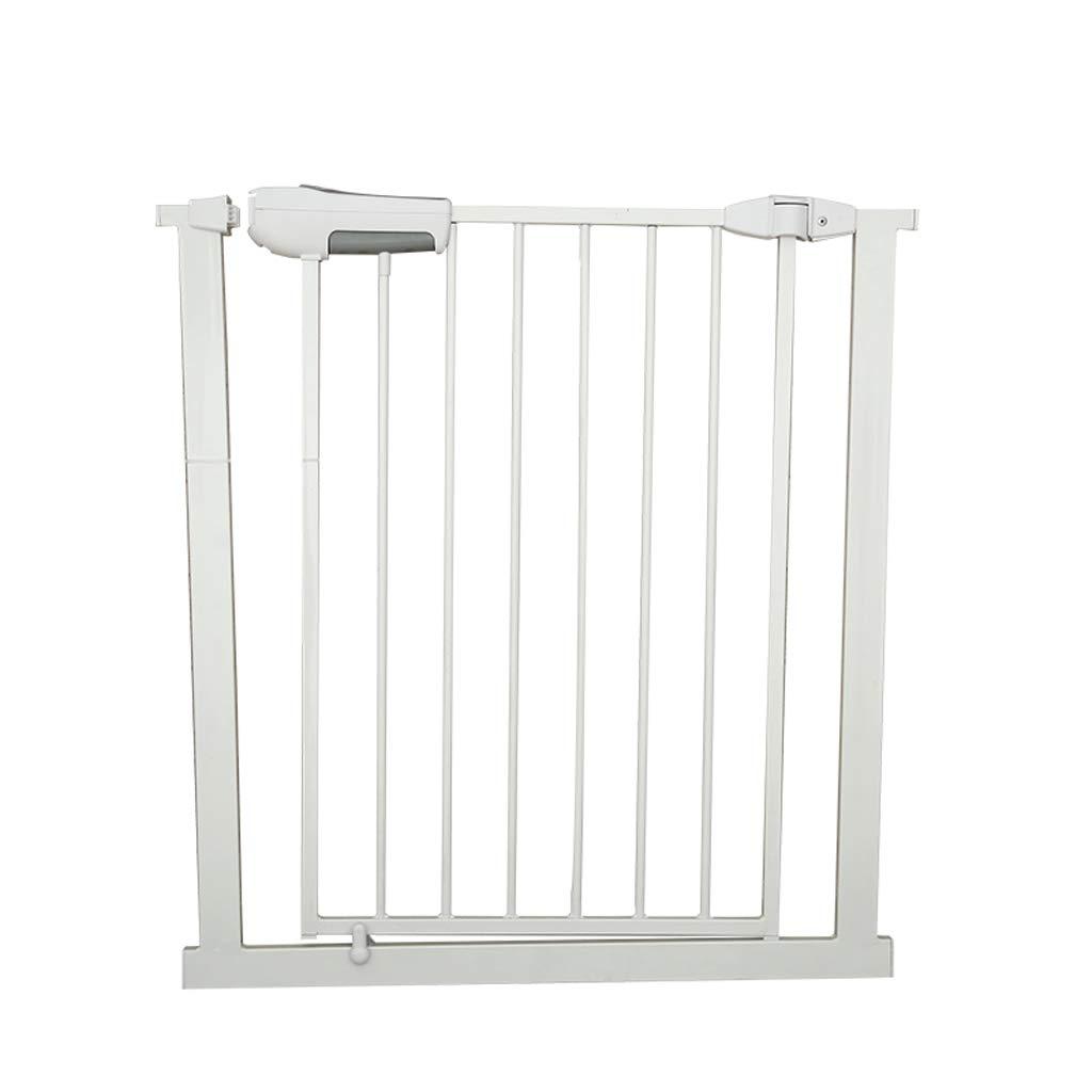 ダブルロック付きの圧力扉、二方向スイッチ自動閉鎖機能、赤ちゃんのペット用安全ドア、65-82cmワイド(オプションのエクステンション)に適しています (サイズ さいず : A section) A section  B07JVLNW5Q