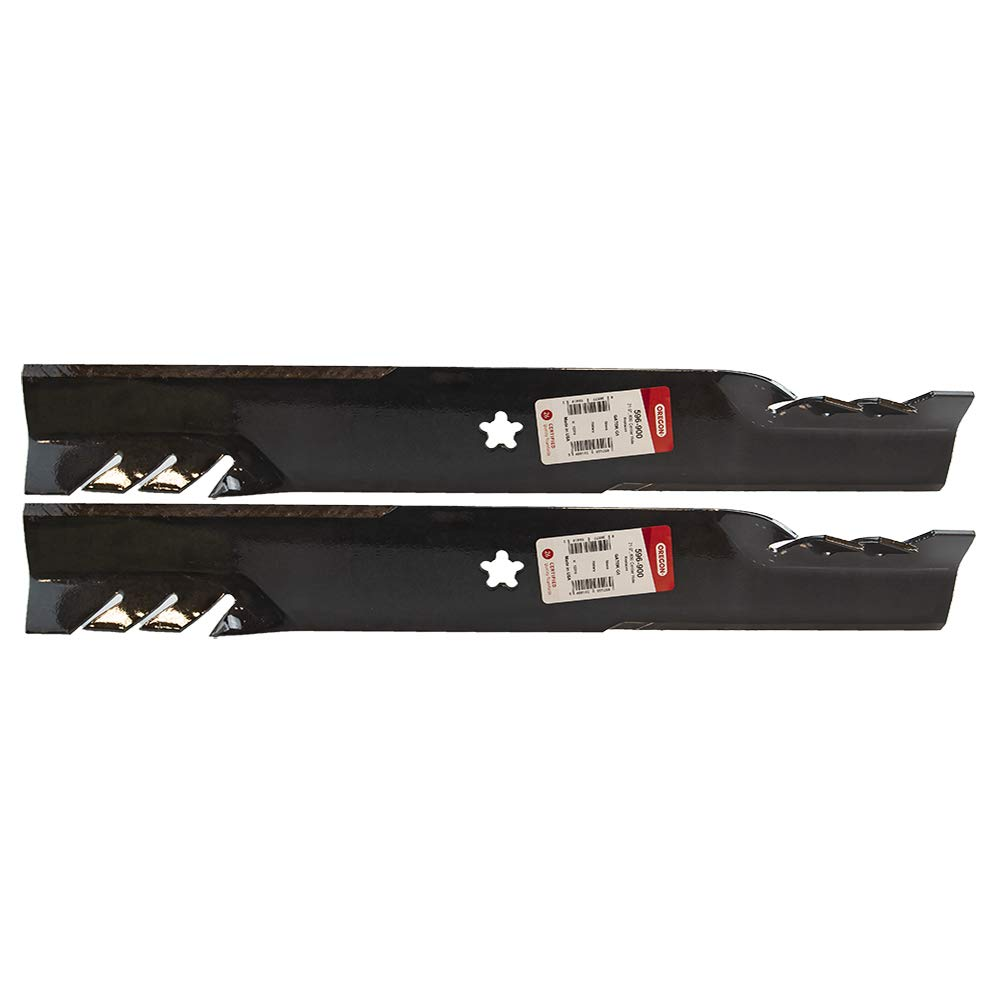 Longer Life 596-900 Gator Fusion G5 3-In-1 Mulching Blades to Replace 134149, 532134149, 139775, 532139775, 138971, 138498, 127843: Craftsman, Poulan, Husqvarna, Made in USA