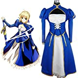 Horries Fate Stay Night Holy Grail War Saber Cosplay Costume