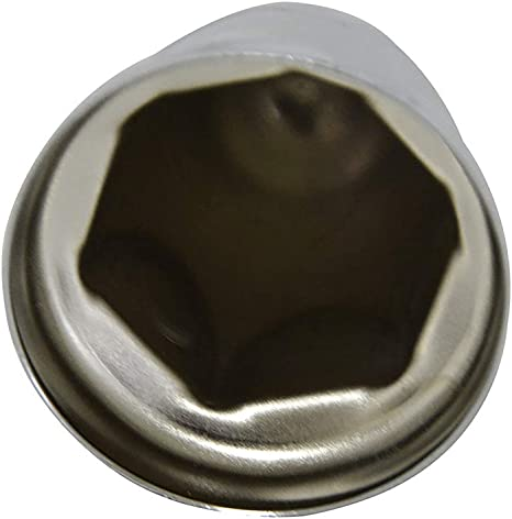 Pack of 60 pcs Flanged Lugs Cap for Trucks Trailers Blitech Chrome Lug Nut Covers for 33 mm 2-1//4 High Wheel Nut
