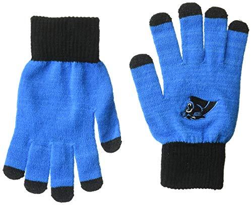 Carolina Panthers Solid Knit Glove -