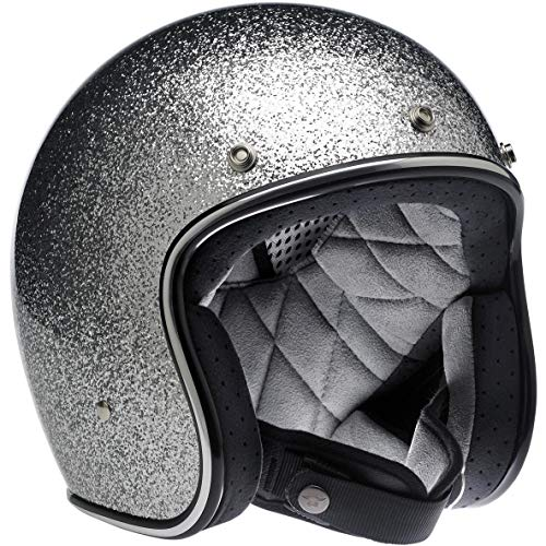 open face helmet chrome - 5