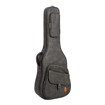 GSCshoe Bolsa de Guitarra clásica Resistente al Desgaste Balada Guitarra Bajo eléctrico Mochila acústica y eléctrica y acústica Bolsa de Guitarra ...