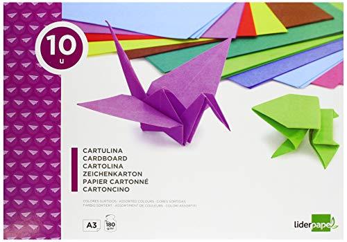 51GLKML2pnL Haz clic aquí para comprobar si este producto es compatible con tu modelo Bloc de trabajos manuales de cartulina 10 hojas de colores surtidos