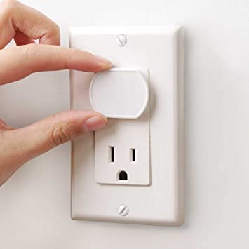 Amazon.com : Baby Mate 12 PCS White Child Safety Electrical Outlet ...