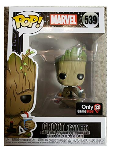 Funko Pop! Marvel Gamer Groot Sitting Exclusive Vinyl Figure
