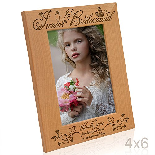 Kate Posh - Junior Bridesmaid - Thank you for being a part of our special day - Picture Frame (4x6 Vertical)]()