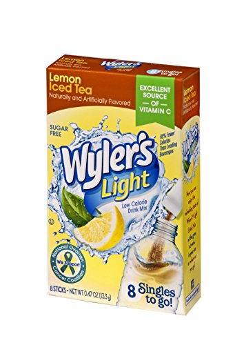 Wyler's Light Singles To Go Powder Packets, Water Drink Mix, Lemon Iced Tea, 96 Single Servings (Pack of - Single Beverage Iced