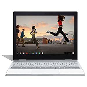 "Google Pixelbook (128GB SSD, 8GB RAM, UK QWERTY Keyboard, Intel Core i5, Chrome OS) 12.3"" inch Touchscreen Wi-Fi Laptop (Silver) - International Version"