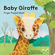 Baby Giraffe: Finger Puppet Book (Little Finger Puppet Board Books)