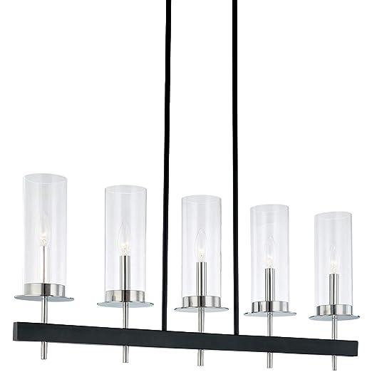 Amazon.com: Pendants E-12 - Lámpara de techo (5 unidades ...