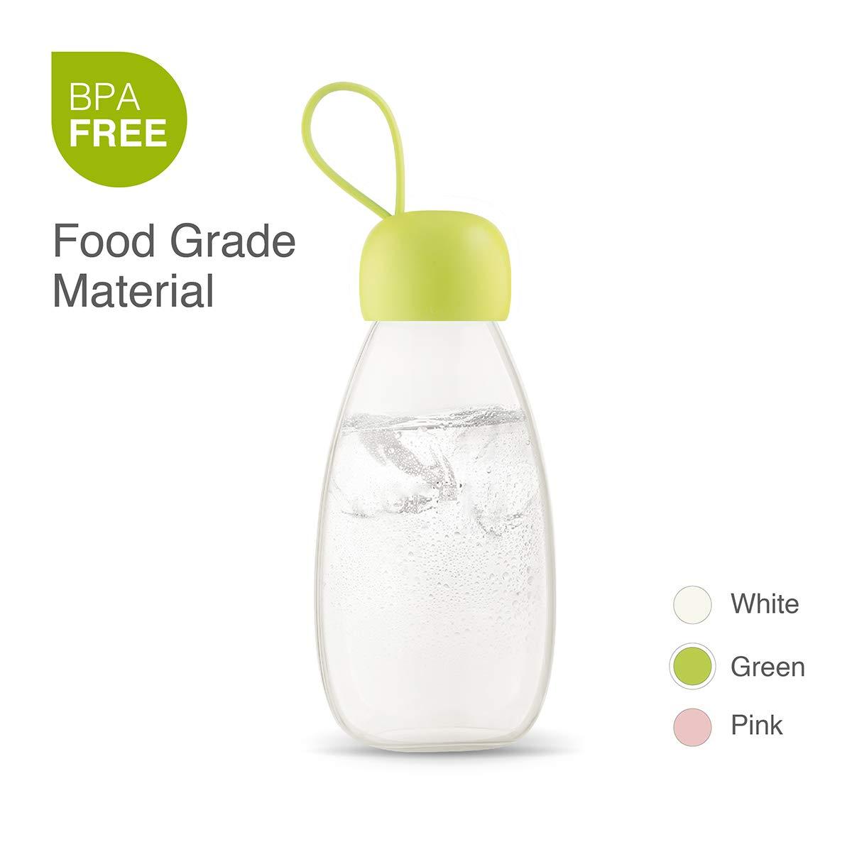 07e126733fda emoi Water Bottle, 12/16 oz Small Kids Water Bottle with Strap for Girls  Boys Kid Toddler Women Men Sports,100% BPA Free, Leak Proof Drinking Bottle