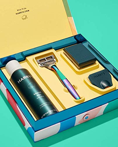 Harry's Limited Time Pride Shaving Set! Celebrate Pride Month! Everything You Need For A Close, Comfortable Shave!