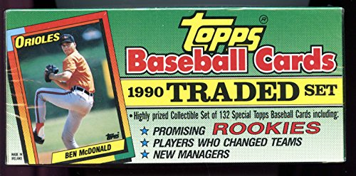 1990 Topps Baseball Card Traded Complete Full Box Set Christmas At
