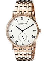 Johan Eric Mens JE-H1000-09-001B Holstebro Analog Display Quartz Gold Watch