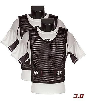 Maxx-Dri Vest 3.0 Body Armor Cooling Ventilation Airflow Tactical Vest (Black, M/L 2-Pack)