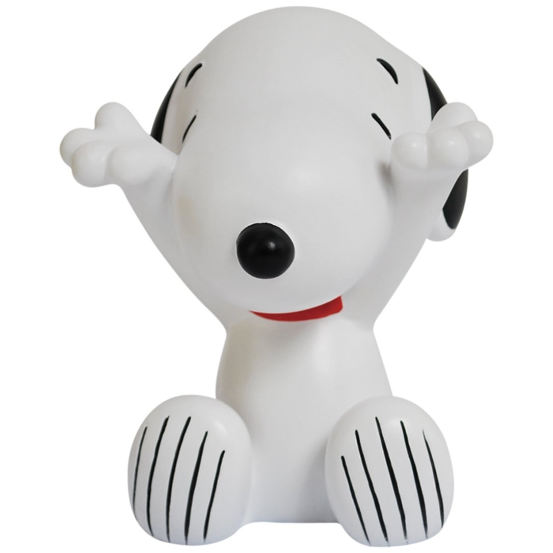 StealStreet SS-WL-24405 4 Inch Snoopy Eyes Closed with Hands Out White Eyeglass Holder