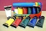 Premiere Acrylic Paint Set- Six 200 ml tubes (2-1/2 lbs of paint)