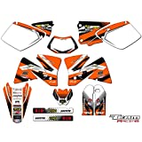 Team Racing Graphics kit for 2001-2002 KTM EXC, ANALOGComplete kit