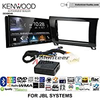Volunteer Audio Kenwood DDX9904S Double Din Radio Install Kit with Apple CarPlay Android Auto Bluetooth Fits 2007-2013 Toyota Tundra, 2008-2013 Sequoia with Amplified Systems (Metallic Gray)
