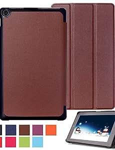 Fuda Tablet casos de 10,1pulgadas triple plegable Patrón de alta calidad de cuero PU para Amazon Fire HD 10(2015) (Varios colores)