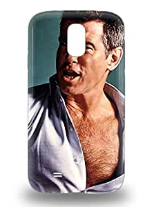 Excellent Galaxy S4 3D PC Case Tpu Cover Back Skin Protector Pierce Brosnan American Male Shattered ( Custom Picture iPhone 6, iPhone 6 PLUS, iPhone 5, iPhone 5S, iPhone 5C, iPhone 4, iPhone 4S,Galaxy S6,Galaxy S5,Galaxy S4,Galaxy S3,Note 3,iPad Mini-Mini 2,iPad Air )
