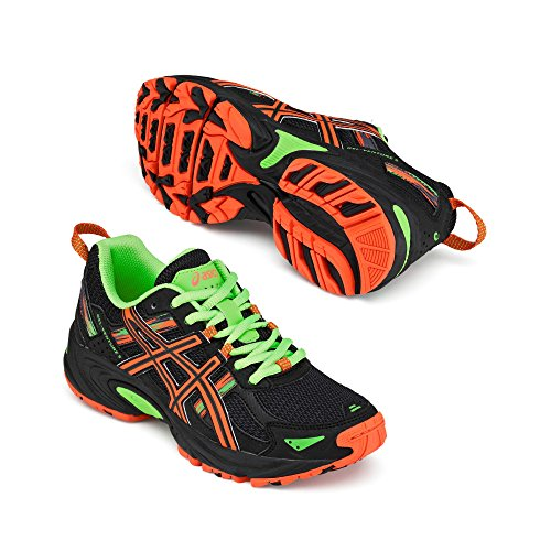 Asics GEL-VENTURE 5 GS Junior Zapatillas Para Correr - AW16 Black / Orange