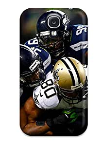 Galaxy Case - Tpu Case Protective For Galaxy S4- Seattleeahawks