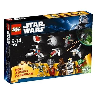 SDCC 2011 Comic-Con Exclusive LEGO Star Wars Advent Calendar Set 7958: Toys & Games