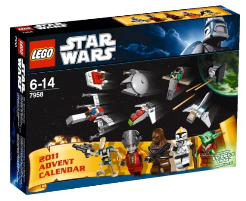 SDCC 2011 Comic-Con Exclusive LEGO Star Wars Advent Calendar Set 7958