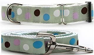 "product image for Diva-Dog 'Metro' 1"" Wide Chainless Martingale Dog Collar, Matching Leash Available"