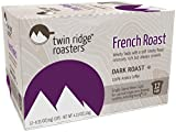 Twin Ridge Roasters, French Roast Single Serve K-cup, Pack of 6 (Compatible with 2.0 Keurig Brewers)