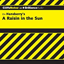 A Raisin in the Sun: CliffsNotes Audiobook by Rosetta James B.A. Narrated by Kate Rudd