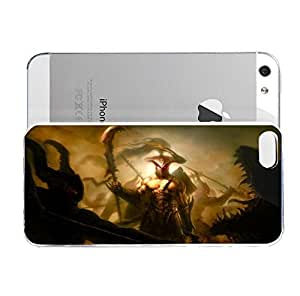 iPhone 5&5S cover case Art Warrior Battle Monsters