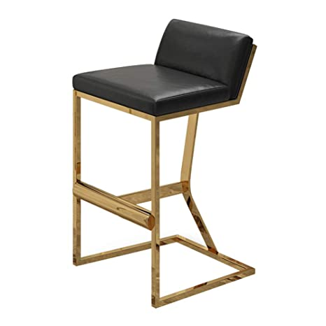Marvelous Amazon Com Stools Footstool Metal Bar Stool Leather Bar Creativecarmelina Interior Chair Design Creativecarmelinacom