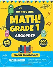 Introducing MATH! Grade 1 by ArgoPrep: 600+ Practice Questions + Comprehensive Overview of Each Topic + Detailed Video Explanations Included | 1st ... (Introducing MATH! Series by ArgoPrep)