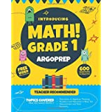 Introducing MATH! Grade 1 by ArgoPrep: 600+ Practice Questions + Comprehensive Overview of Each Topic + Detailed Video…