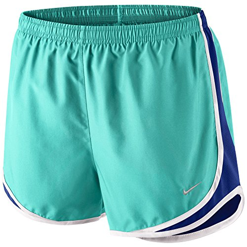 royal aqua blue matte NIKE light silver deep Short white Women's Tempo xIqaY