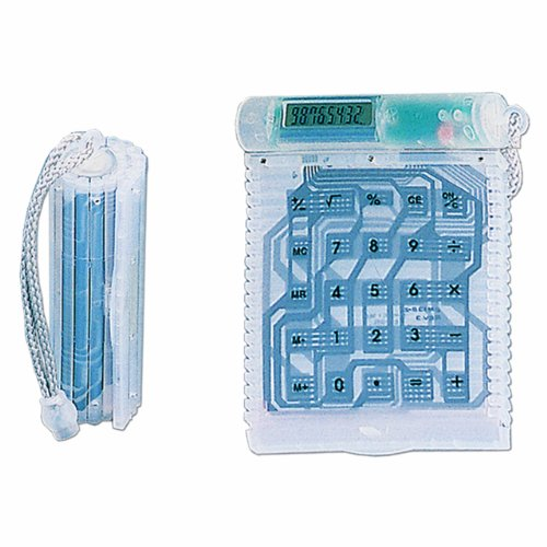Natico Flexi-Cal Roll up Calculator, Translucent - Rollup Calculator