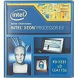 Intel BX80646E31231V3 Xeon boxed Prozessor (4x 3,4GHz, Sockel 1150, 8MB L3-Cache, DMI, 80 Watt)