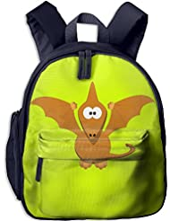 Cartoon Pterodactyl With Upraised Wings Backpack For Kids Back To School