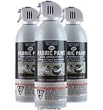 Simply Spray Upholstery Fabric Spray Paint 3 PK Charcoal Grey