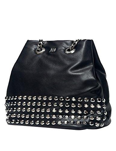 Jlo By Jennifer Lopez Women's Moon Women's Black Shoulder Bag