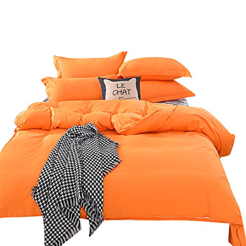 Bed Sets Sale,KIKOY 1500 Series Super Soft Sheet Bedding Solid Colors Full Size