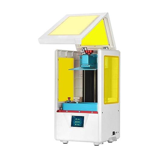 ZHQEUR Pluma de impresión 3D Impresora 3D de fotocurado UV, Ultra ...