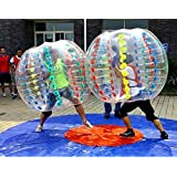 Yoli® Colorful,clear, Red ,Blue Bubble Soccer Ball Dia 5.6' (1.7m) Human Inflatable Bumper Bubble Balls,inflatable Bubble Zorb Ball