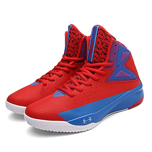Amazon.com: BEESCLOVER Sneakers Men Lightweight Basketball Shoes for Men Basket Femme Sneakers Outdoor Breathable Unisex Sport Shoes Training deep Blue ...